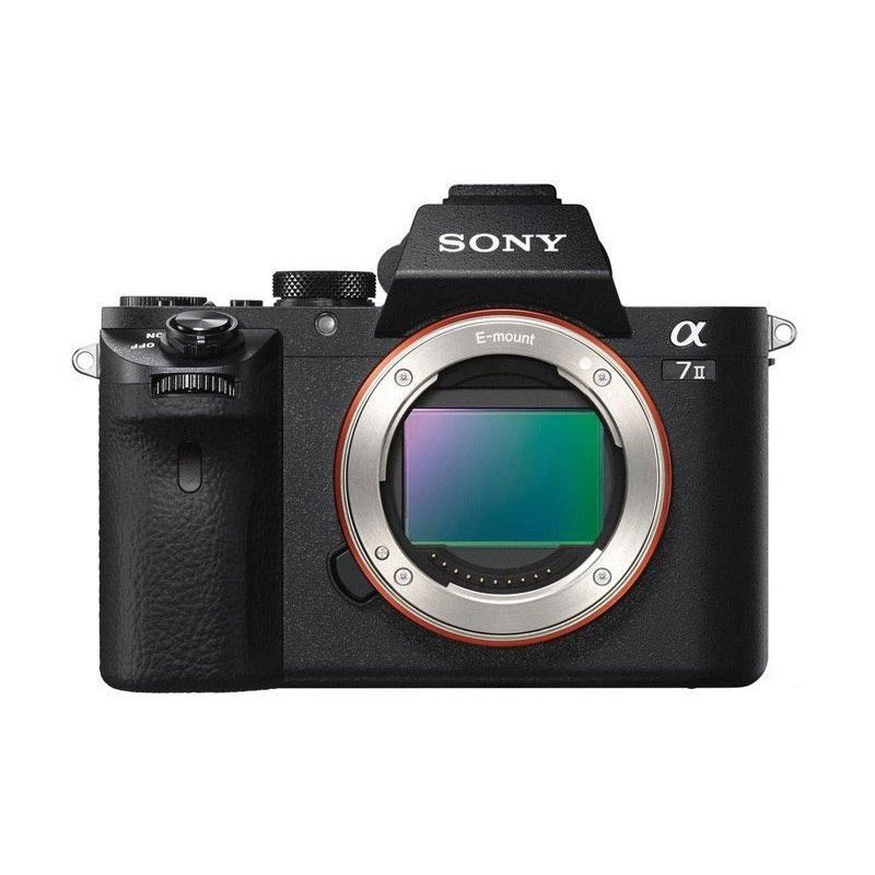 Sony Alpha 7 II Body With SONY LENS FE 50mm  Kamera Mirrorless