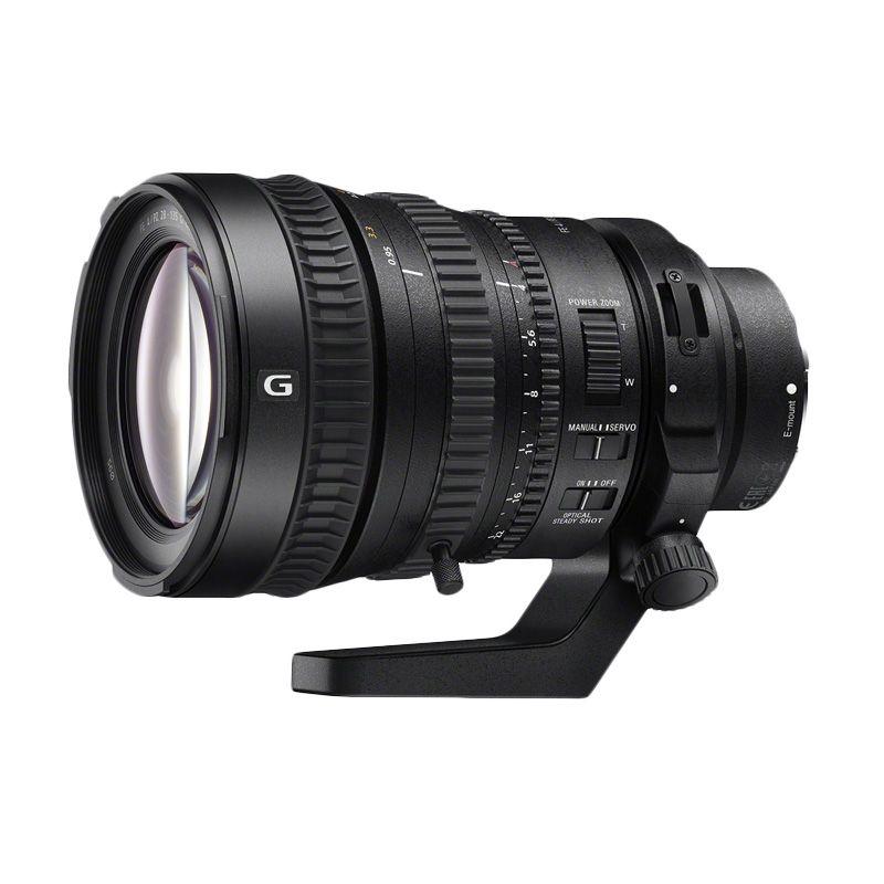 Sony FE PZ 28-135mm F4 G OSS Lensa Kamera