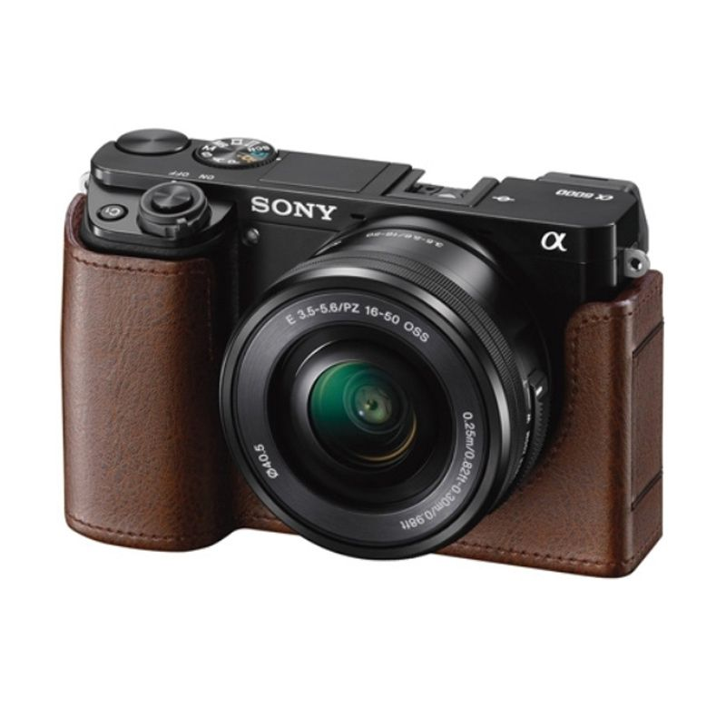 Sony LCS-EBE Coklat Casing Kamera for A6000/A6300