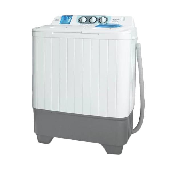 Denpoo DW-898 Mesin Cuci [2 Tabung/7kg] Putih