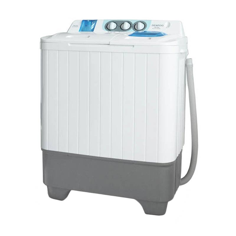 Denpoo DW-898 W Twin Tub Washing Machine 7 kg