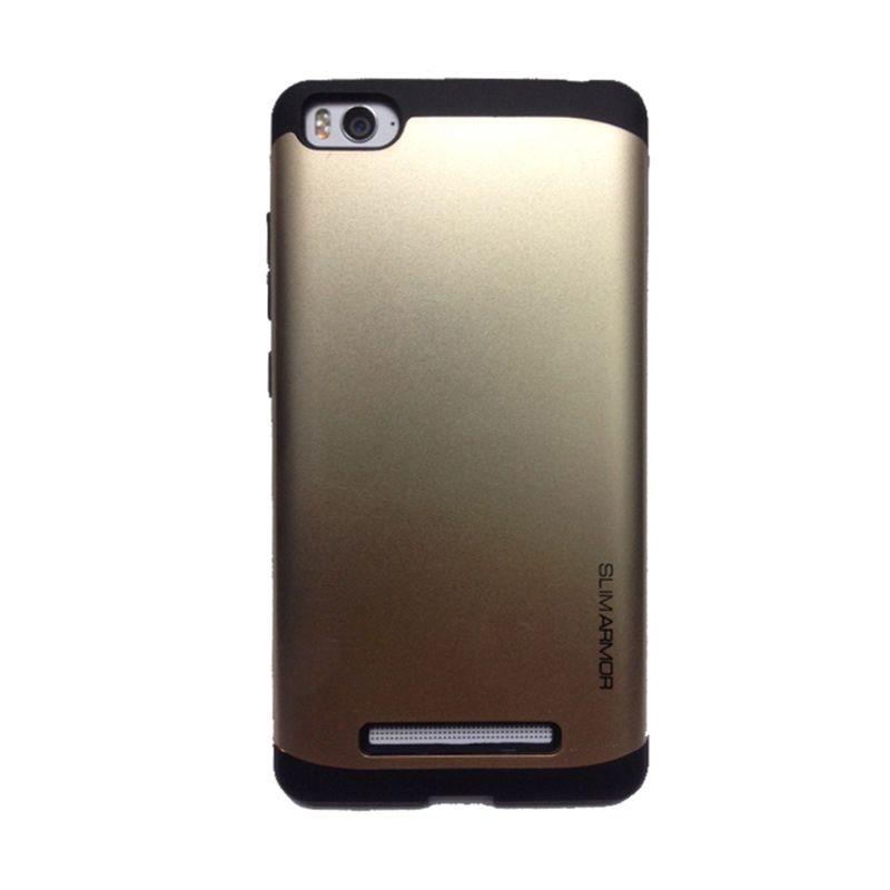 Depo Slim Armor Series Gold Casing for Xiaomi Mi4i