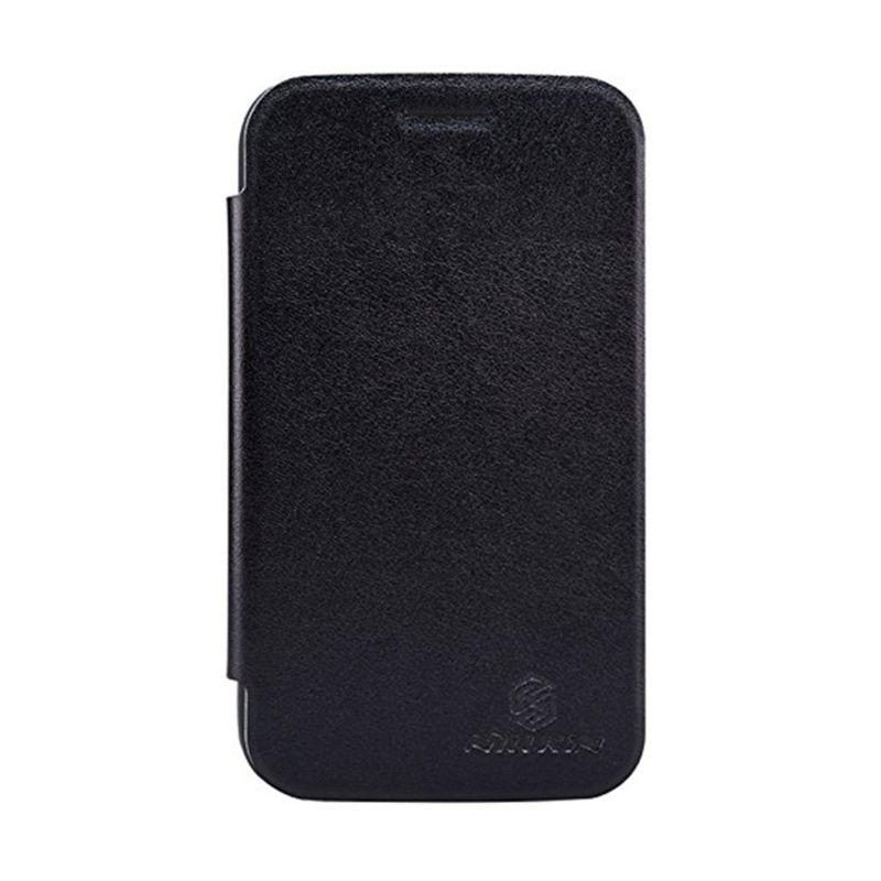 Nillkin V Series Hitam Flip Cover Casing for BlackBerry Q20