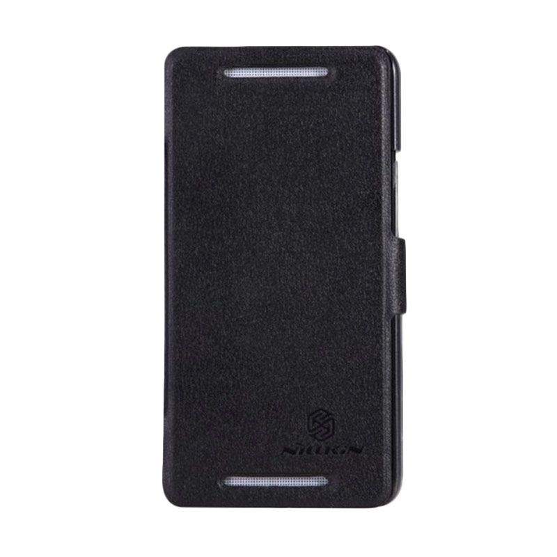 Nillkin Fresh Hitam Leather Casing for HTC One DS or 802T