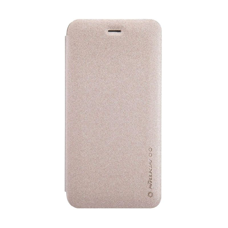 Nillkin Sparkle Leather Gold Case Casing for Apple iphone 6