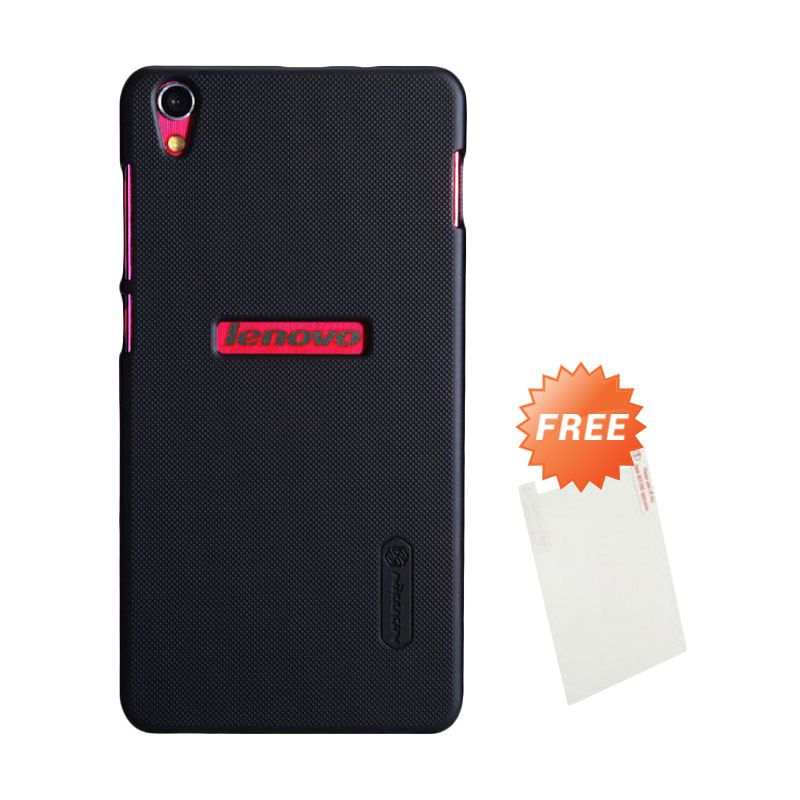 Nillkin Super Frosted Shield Hitam Casing for Lenovo S850 + Screen Protector
