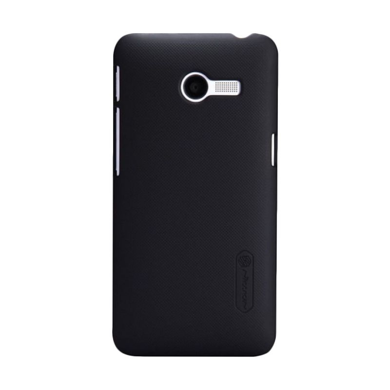 Nillkin Super Frosted Shield Hitam Casing for Zenfone 4 + Screen Protector