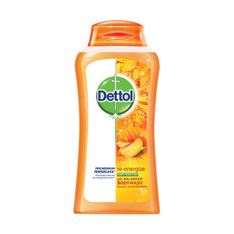 Jual Dettol Bottle Reenergize Sabun Mandi 300 ML Online