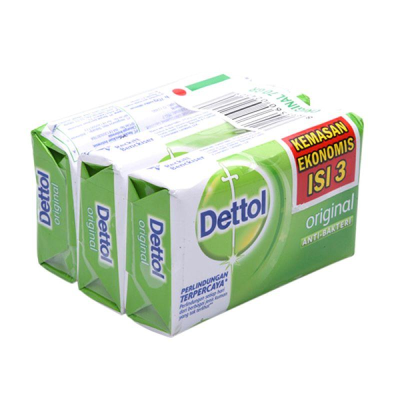 harga Dettol Sabun Anti-Bakteri Original Special Price [3 Pcs/65 g] Blibli.com