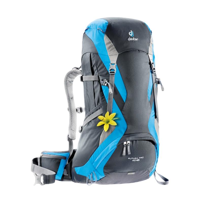 harga Deuter Futura Pro 40 Sl Backpack Graphite Women's Fit-Turquoise 34284 Blibli.com