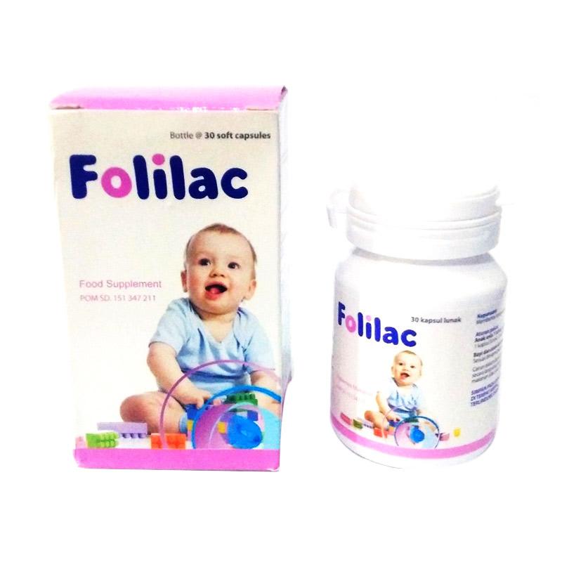 harga Folilac Softgel Suplemen Makanan Bayi & Anak [30 Softgel] Blibli.com