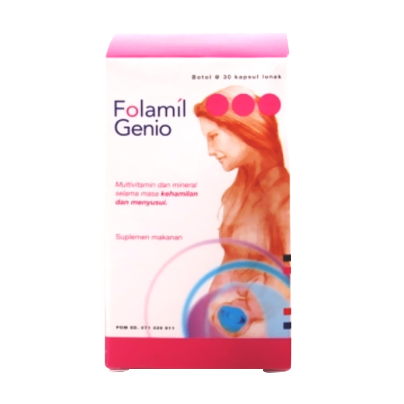 harga Dexa Folamil Genio Multivitamin and Mineral for Pregnancy & Lactating Period Blibli.com