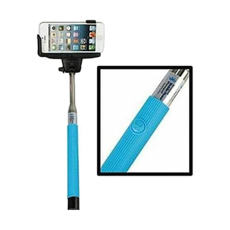 DEEZ Tongsis Bluetooth Blue Monopod