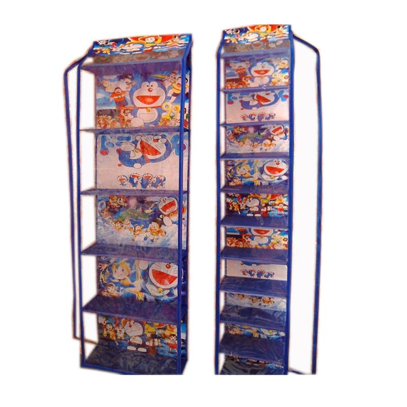 Jual Dhewis Hanging Shop Doraemon Rak Sepatu Gantung Dan