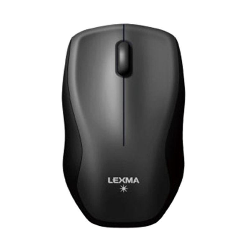 Lexma M725R Black Mouse Wireless