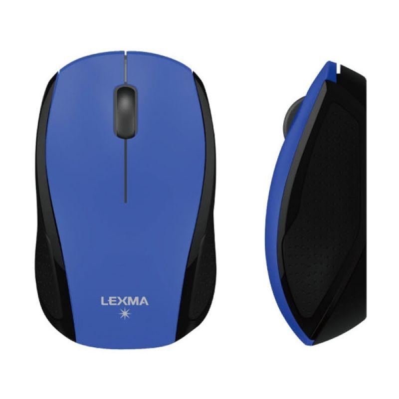 Lexma M727 Blue Mouse