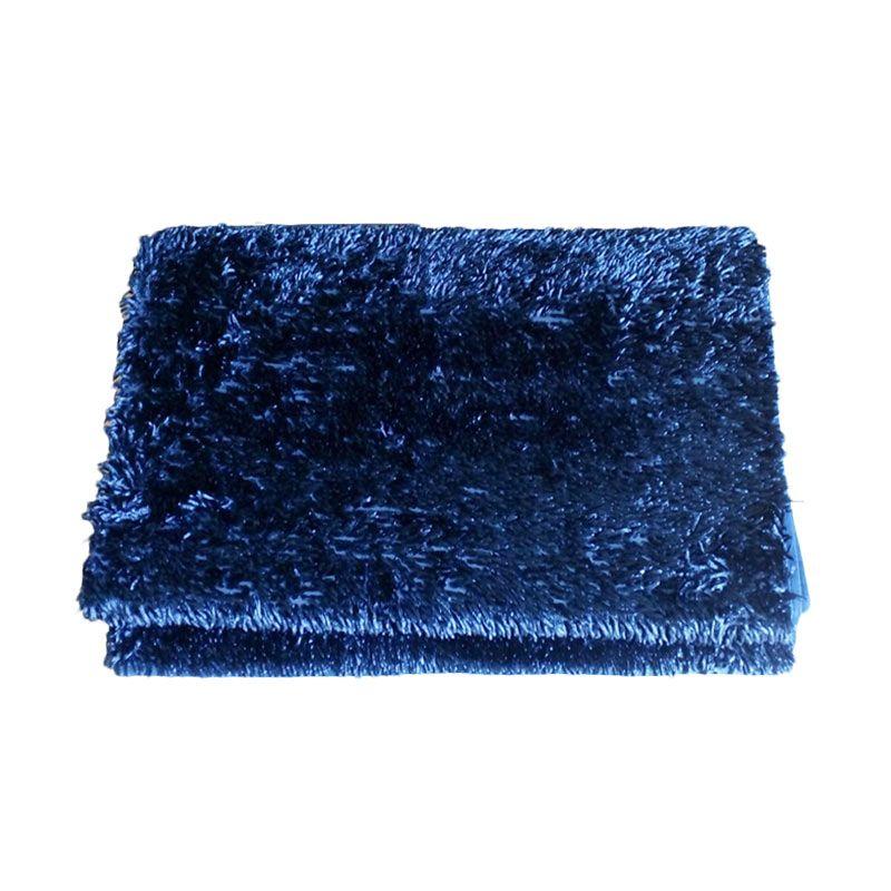 Dinemate Cendol Glossy Biru Karpet [150 x 200 cm]