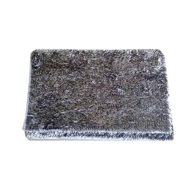 Dinemate Cendol Glossy Gray Karpet [150 x 200 cm]