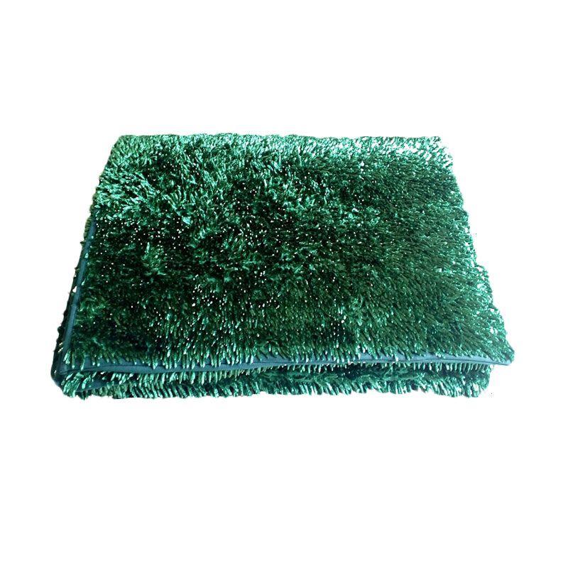 Dinemate Cendol Glossy Hijau Karpet [150 x 200 cm]