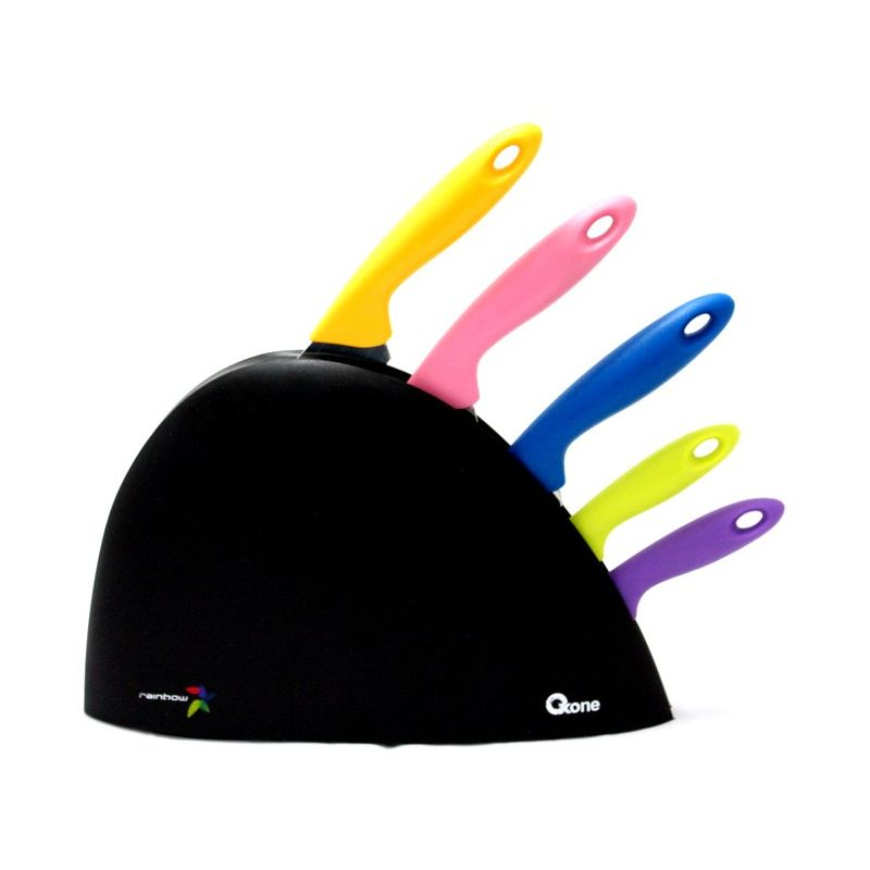 Oxone Rainbow Knife Set OX-606 Pisau