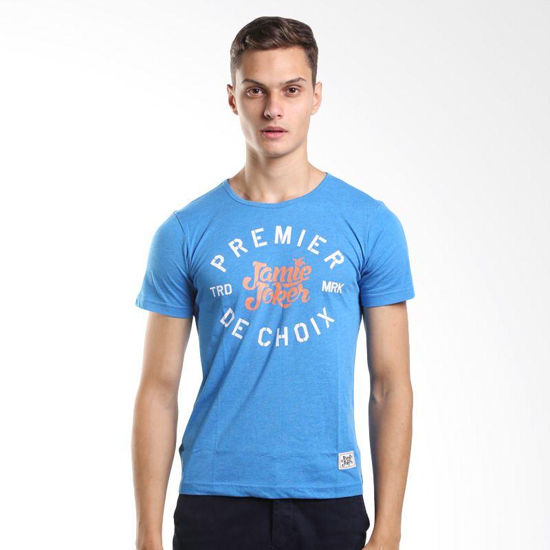 Jamie Joker Dom Blue T-Shirt Pria