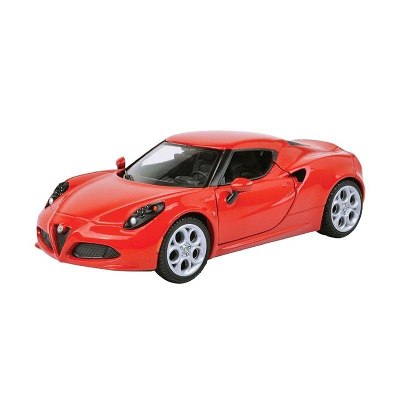 Motormax Alfa Romeo 4C Merah Diecast [1:24]