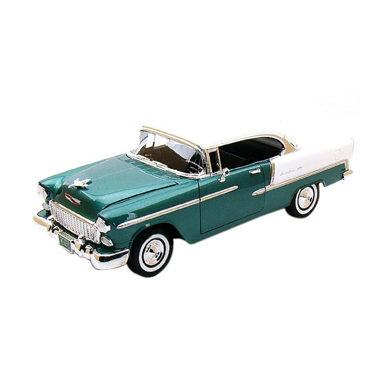 Motormax Chevy Bel Air 1955 Green Diecast [1:24]