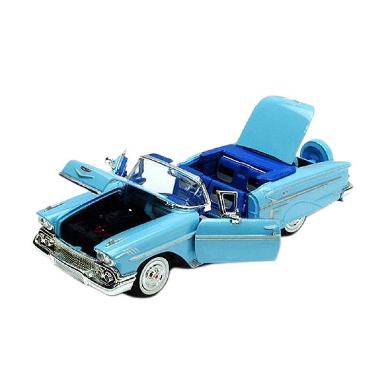 Motormax Chevy Impala 1958 Blue Diecast [1:24]