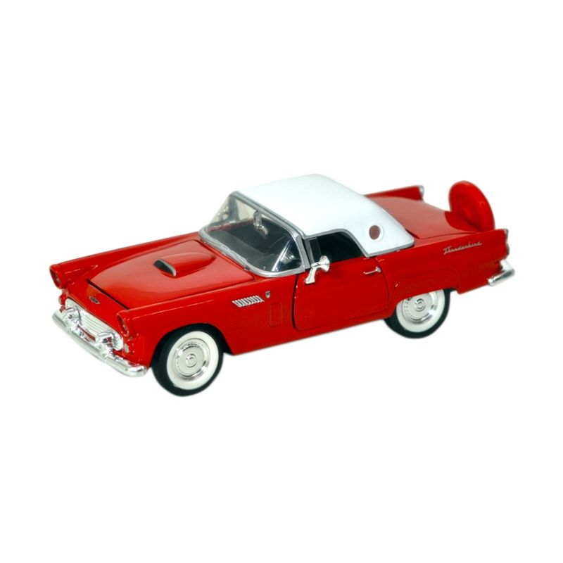 Motormax Ford Thunderbird Hard Top Red Diecast [1:24]