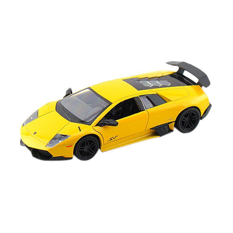 Motormax Lamborghini Murcielago LP 670-4 SV Kuning Diecast [1:24]