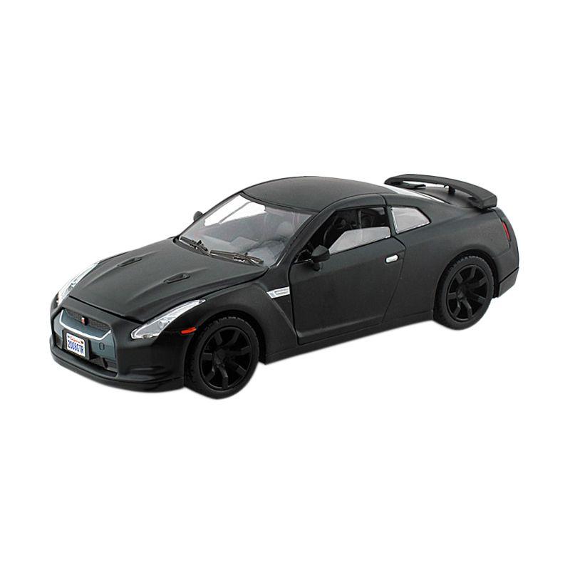 Motormax Nissan GT-R Hitam Metalic Diecast [1:24]