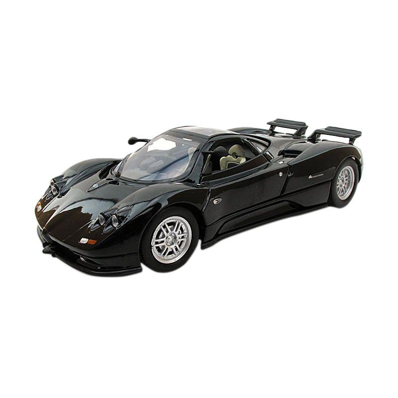 Motormax Pagani Zonda C12 Hitam Diecast [1:24]