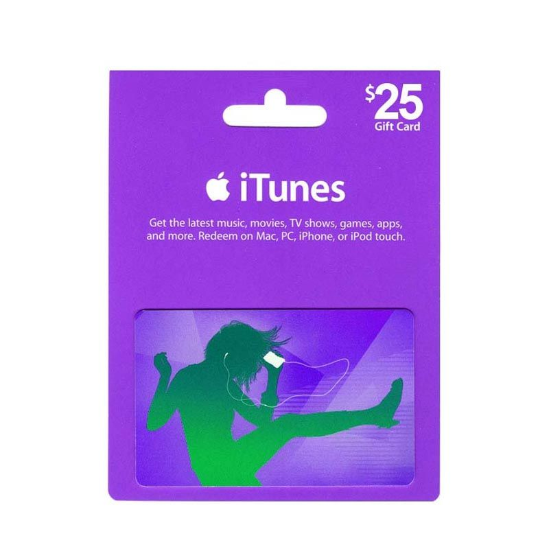 iTunes Gift Card US $25