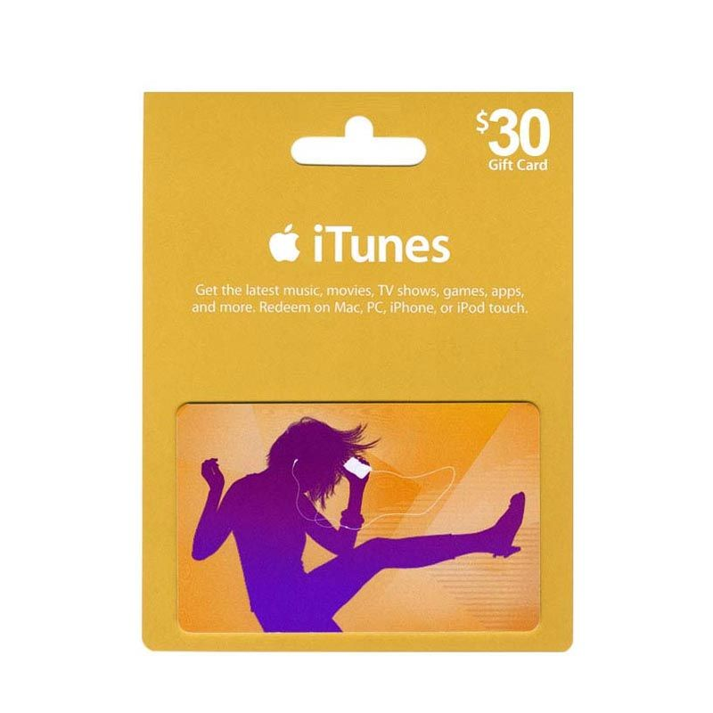 iTunes Gift Card US $30