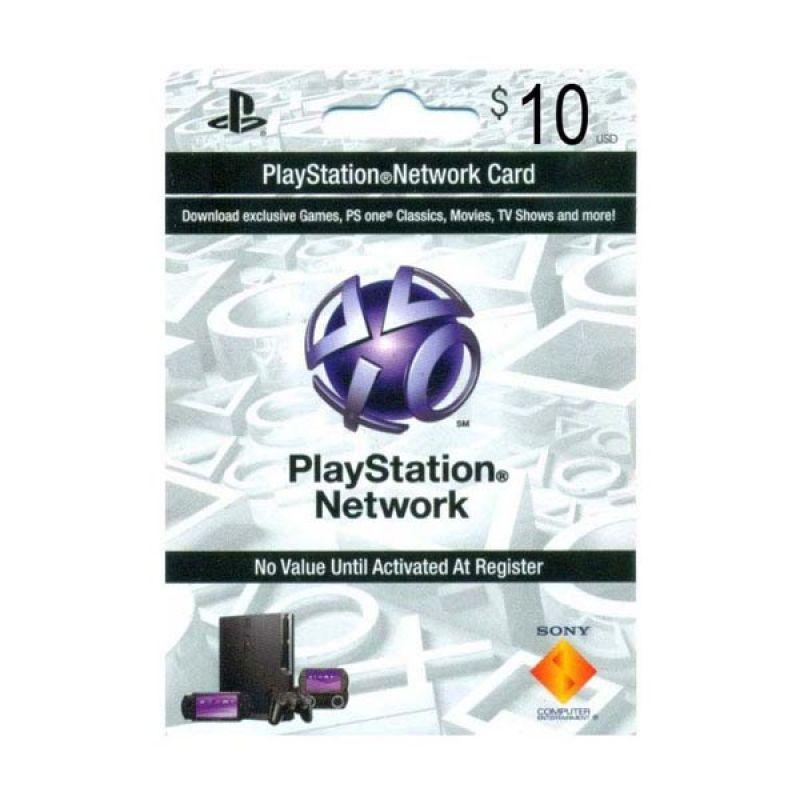 PlayStation Network Card US $10