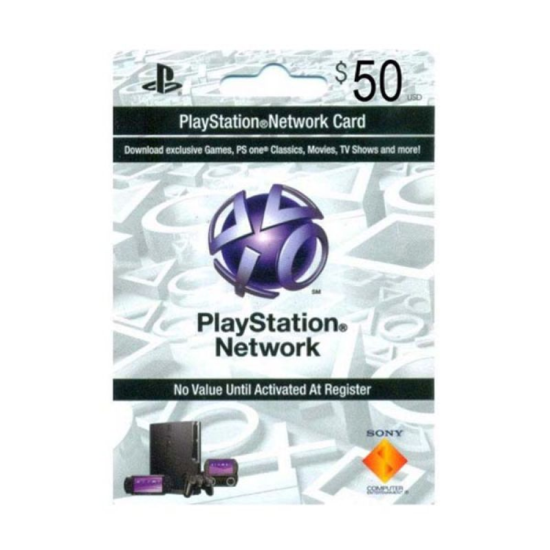 PlayStation Network Card US $50