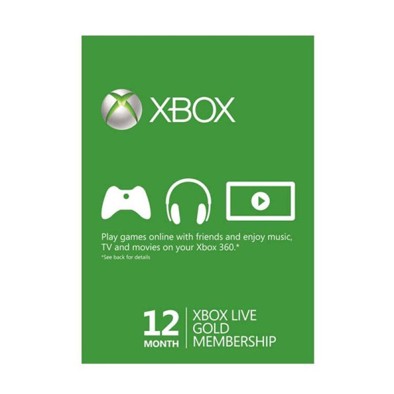 XBOX Live Gold Subscription Worldwide 12 months
