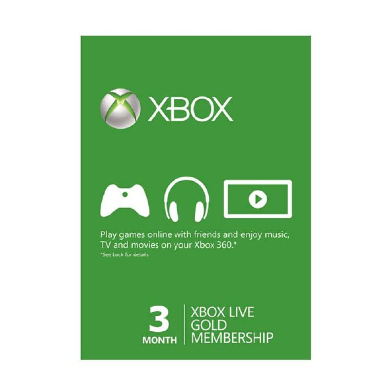 XBOX Live Gold Subscription Worldwide 3 months