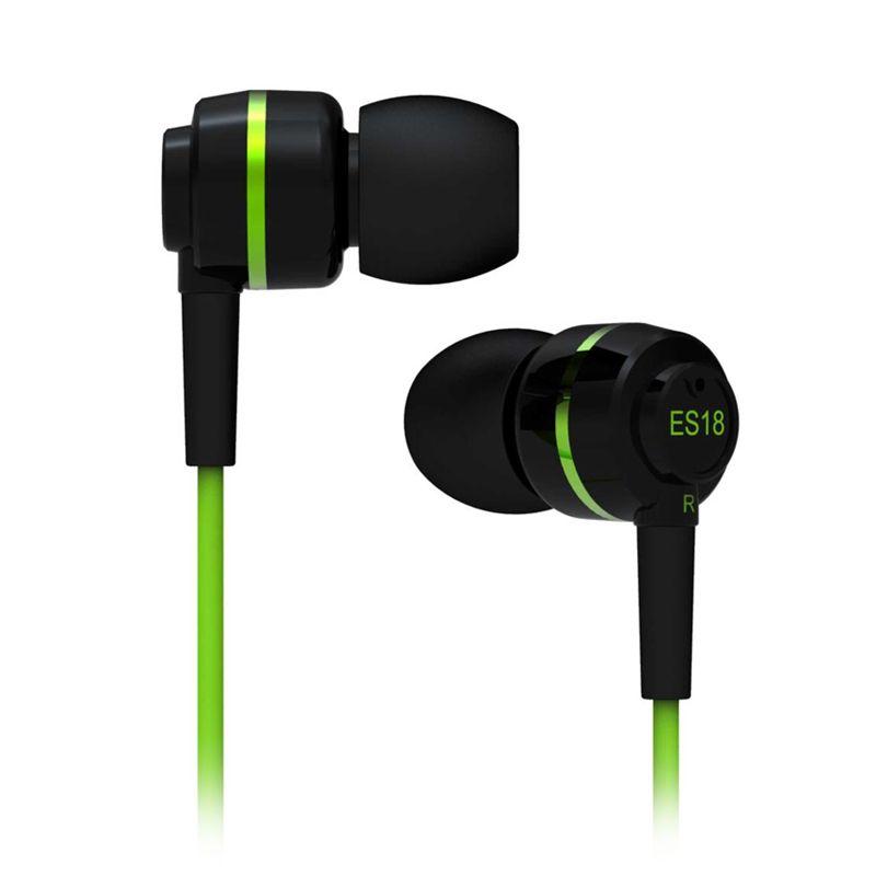 SoundMagic In Ear Headphone ES18 Green Earphone