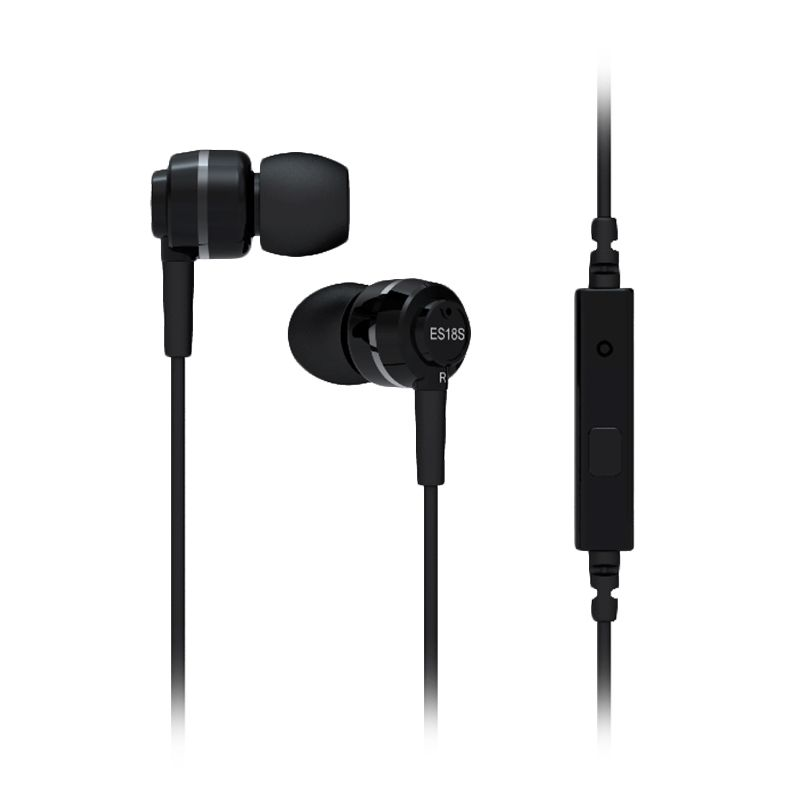 SoundMAGIC ES18S Silver In Ear Headphone
