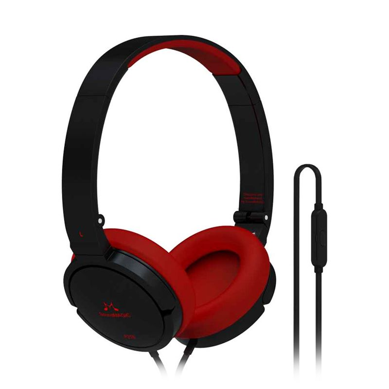 SoundMagic Portable P21 Black Headphone