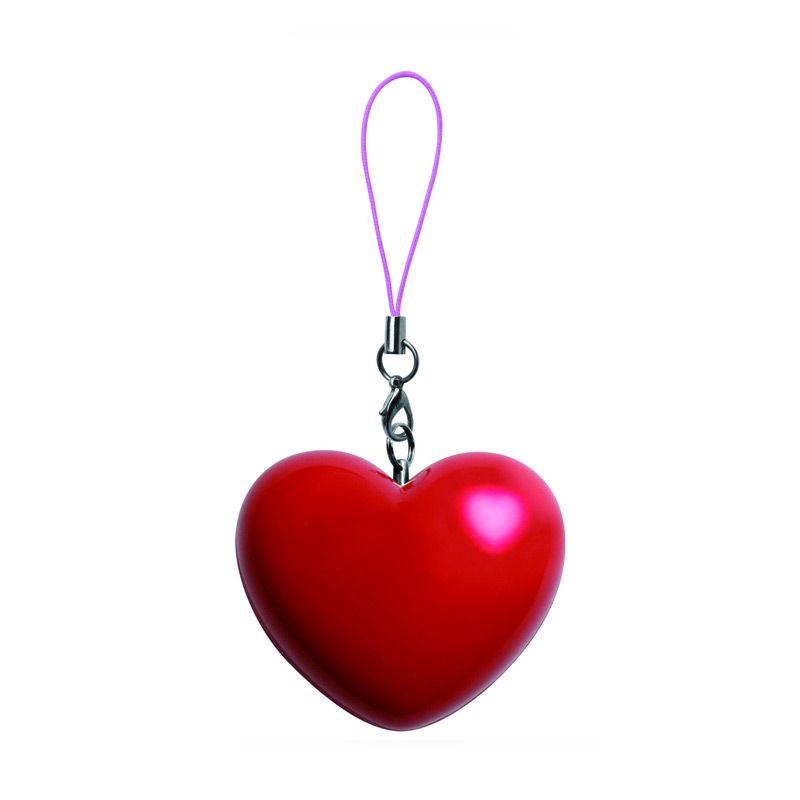 Zumreed Heart Speaker Red