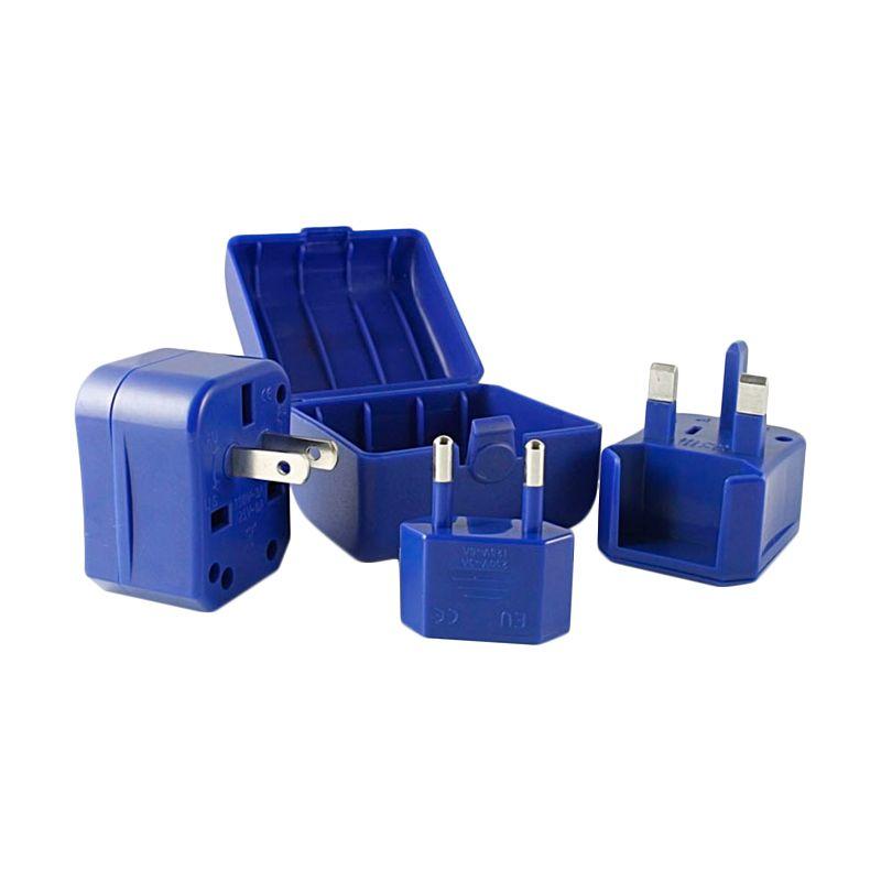 CLiPtec GZJ150 Universal Biru Adaptor Listrik