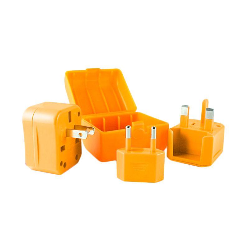 CLiPtec GZJ150 Universal Orange Adaptor Listrik