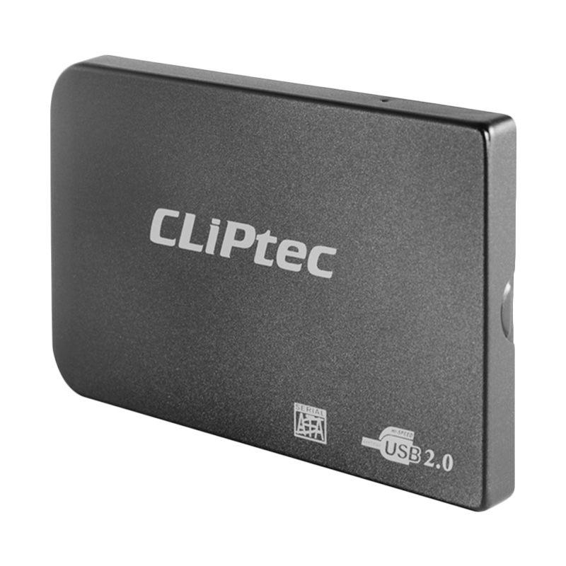 Cliptec 2.5 Sata Enclosure RZE270 Black Casing Hard Disk