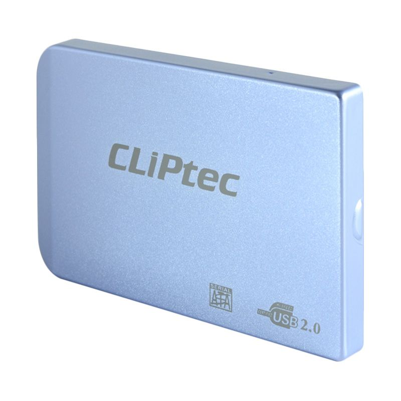 Cliptec 2.5 Sata Enclosure RZE270 Blue Casing Hard Disk