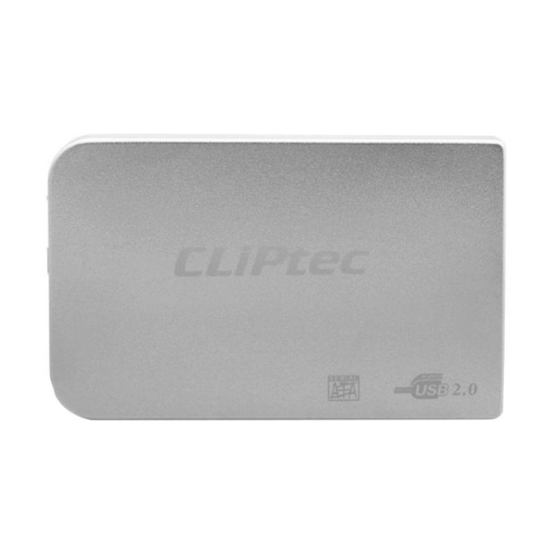 Cliptec 2.5 Sata Enclosure RZE270 Silver Casing Hard Disk