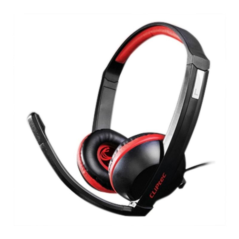CLiPtec BGH666 Poison P6 C-Cobra Stereo Multimedia Hitam Gaming Headset