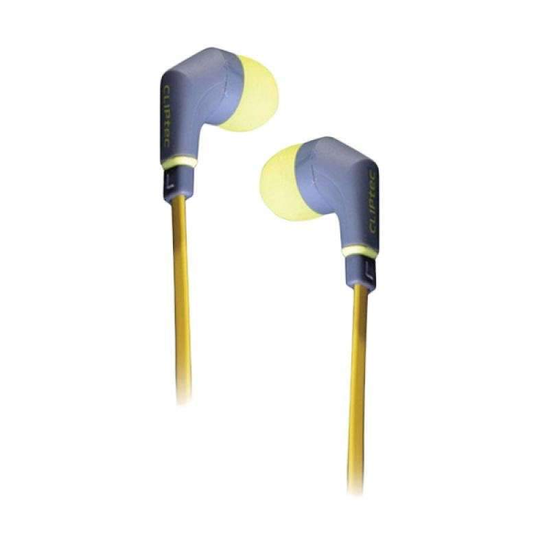 Cliptec BME 959 Neonlica Kuning Earphone