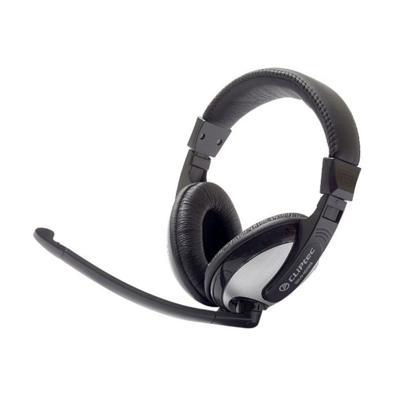 CLiptec BMH699 Clear Beat Stereo Multimedia Hitam Headset